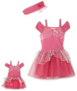 Dollie & Me Girls 7 16 Princess Dress Up,Pink,8: Clothing