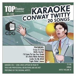 Top Tunes Karaoke CDG TT 193 Artist Vol. 29 Conway Twitty: Music