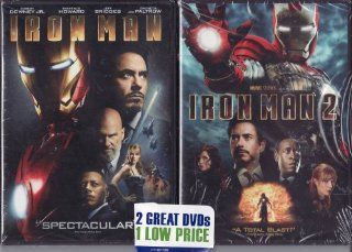 Iron Man / Iron Man 2 LIMITED EDITION 2 PACK DVD SET: Robert Downey Jr, Gwyneth Paltrow: Movies & TV