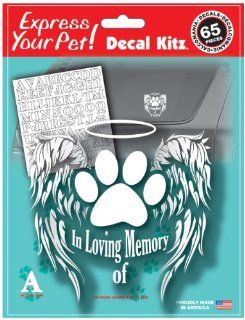 "Chroma Graphics 20113 My Pet   6"" x 8"" 194 Piece 'Pet Memory' Stick Onz Decal Kit: Automotive"