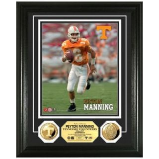 Tennessee Volunteers #16 Peyton Manning 24kt Gold Player Photomint