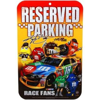 Kyle Busch 11 x 17 Reserved Parking Sign