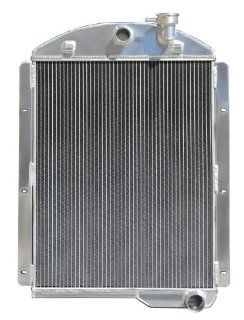 Champion CoolIng Systems, CC4146CH, 3 Row All Aluminum Replacement Radiator for Chevrolet Truck Models with Conversion Automotive