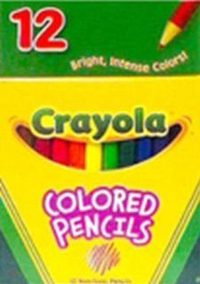 """Crayola Colored Pencils 4.5"""" 12 Count (Pack of 3)  Wood Colored Pencils"""