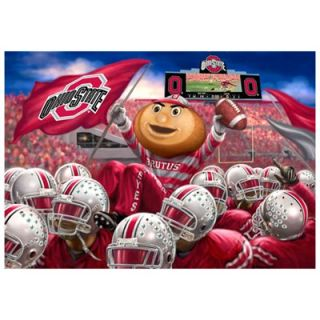 Ohio State Buckeyes 48 x 60 Football Team Celebration Fleece Blanket
