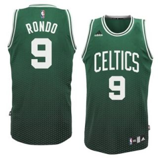adidas Rajon Rondo Boston Celtics Resonate Fashion Swingman Jersey   Kelly Green/Black
