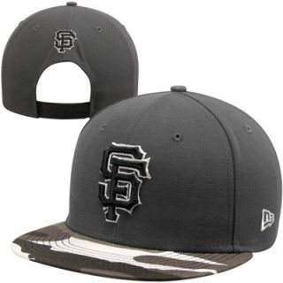 New Era San Francisco Giants 9FIFTY Urban Camo Snapback Hat   Graphite