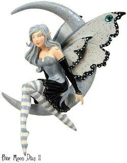 ~ BLUE MOON DIVA II ~ Amy Brown MOON DIVAS Fairy Figurine Ornament   Collectible Figurines