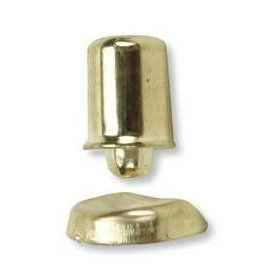 Battalion 1VZX1 Bullet Catch, Brass, 1/2 Hx3/8 D: Industrial & Scientific