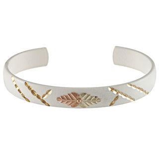 Black Hills Gold Powdercoated Brass Cuff Bracelet Black Hills Gold Black Hills Gold Bracelets
