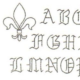 Sublime Stitching Embroidery Patterns: Olde Alphabet