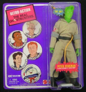 SDCC 2010 Retro Action The Real Ghostbusters  Citizen Ghost Peter Venkman RARE VARIANT: Toys & Games