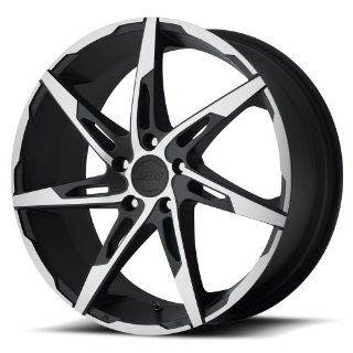 "American Racing AR900 Wheel with Satin Black Machined (17x7.5""/5x115mm) Automotive"