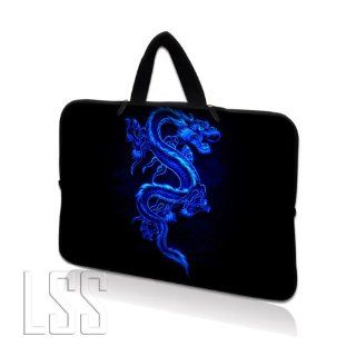 """LSS 15.6 inch Laptop Sleeve Bag Carrying Case Pouch with Hidden Handle for 14"""" 15"""" 15.4"""" 15.6"""" Apple Macbook, GW, Acer, Asus, Dell, Hp, Sony, Toshiba, Blue Dragon Computers & Accessories"""
