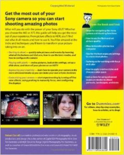 Sony Alpha SLT A65/A77 For Dummies (9781118243800): Robert Correll: Books