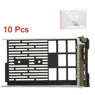 "(10 Pack)3.5"" F238F 0G302D G302D 0F238F 0X968D X968D SAS/SATAu Hard Drive Tray/Caddy for DELL server R610 R710 T610 T710 Compatible with F238F: Computers & Accessories"