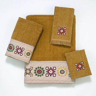Buy Avanti Country Patterns Bath Towel in Nutmeg from