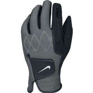 Nike Men's All Weather II Regular Black Golf Gloves: Sports & Outdoors