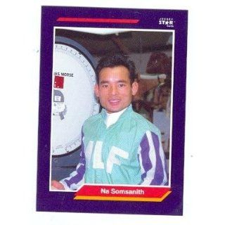 Na Somsanith trading card (Horse Racing) 1992 Jockey Star #245: Collectibles & Fine Art