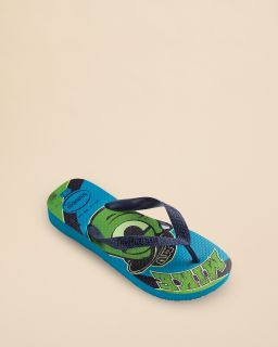 havaianas Boys' Monsters Inc. Printed Flip Flops   Toddler, Little Kid, Big Kid's