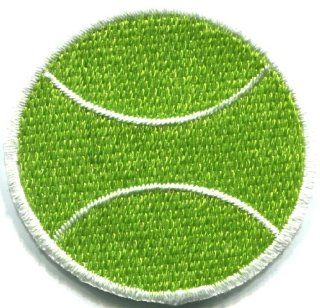 Tennis Ball Sports Retro Applique Iron on Patch S 247 Made of Thailand: Everything Else