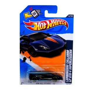 Hot Wheels 2012, Lamborghini Gallardo LP 570 4 Superleggera (Dark Blue), HW All Stars 126/247. 1:64 Scale.: Toys & Games