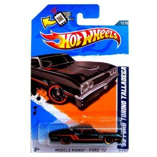 2012 HOT WHEELS 69 FORD TORINO TALLADEGA MUSCLE MANIA 1 OF 10 and 111/247 WITH SCAN & TRACK ON BACK: Toys & Games