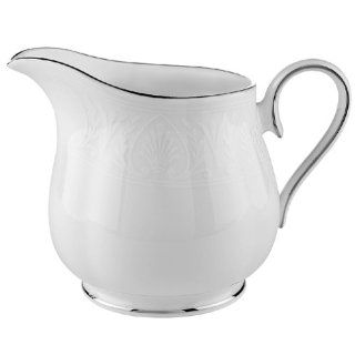 Lenox Hannah Platinum Bone China Sugar Bowl with Lid: Kitchen & Dining
