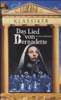 The Song of Bernadette [VHS]: Jennifer Jones, Charles Bickford, William Eythe, Vincent Price, Lee J. Cobb, Gladys Cooper, Anne Revere, Roman Bohnen, Mary Anderson, Patricia Morison, Aubrey Mather, Charles Dingle, Arthur C. Miller, Henry King, Barbara McLea