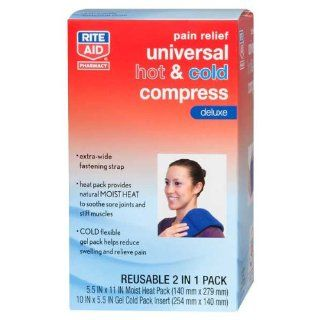 Rite Aid Reusable Compress, Hot & Cold, Large Universal, 1 ct Health & Personal Care