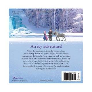 Frozen Read Along Storybook and CD: Disney Book Group, Disney Storybook Art Team: 9781423170648: Books