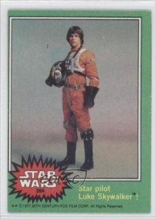 Star pilot Luke Skywalker (Trading Card) 1977 Star Wars #264 Collectibles & Fine Art