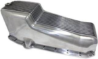 Mota Performance A70896 Aluminum Engine Oil Pan Finned 4 Quart Capacity Automotive