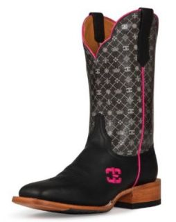 Cinch Women's Edge 5Th Avenue Cowgirl Boot Square Toe: Shoes