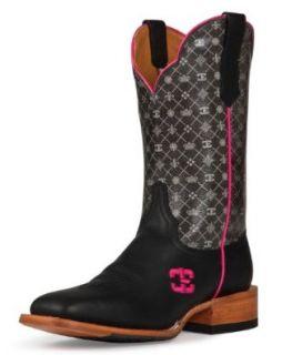 Cinch Women's Edge 5Th Avenue Cowgirl Boot Square Toe: Shoes
