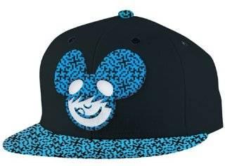 8621035db65 ... Dj Deadmau5 Snapback Hat Cap Flat Bill Black Logo Mouse Head Adjustable  Red New  Sports ...