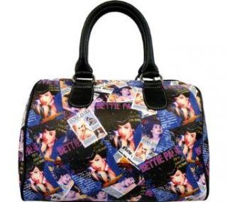 Bpg1082. Bettie Page Satchel BAG Beauty