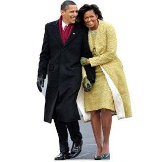 WGH25044 V6 Michelle and Barack Obama Vinyl Wall Graphic Decal Sticker   Wall Decor Stickers