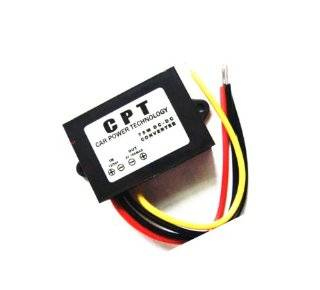 Autek DC DC Buck Converter 12V/24V to 5V 15A Step Down Voltage Module Car Power Supply(DCCON C15): Electronics