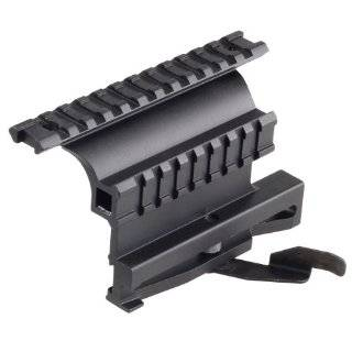 Saiga 12 20 410 223 7.62x39 308 Rifle Quick Detachable Double Rail Side Mount: Sports & Outdoors