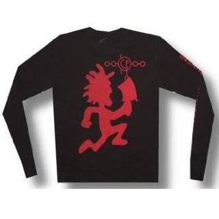 INSANE CLOWN POSSE   Hatchet Man   Black Longsleeve Thermal Shirt   size XXXL   ICP: Clothing