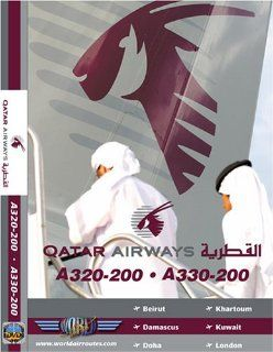 Qatar Airways Airbus A320 & Airbus A330: None, Just Planes: Movies & TV
