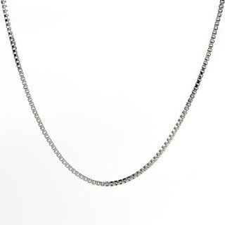 Sterling Silver 15 Inch 012 Box Chain Necklace: West Coast Jewelry: Jewelry