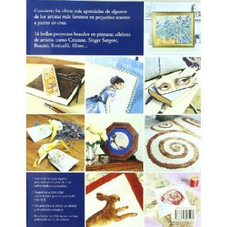 Pinturas famosas a punto de cruz/ Famous Paintings in Cross Stitch (Spanish Edition): Jan Eaton: 9788475561189: Books