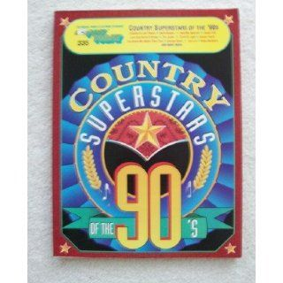 EZ Play Today. Country Superstars of the 90s. For Organ, Piano, & Electronic Keyboards (EZ Play Today, No. 335) Various 9780793514809 Books