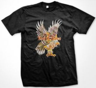Born Free, Tattoo Your Soul Mens T shirt, Old School Eagle Tattoo Mens Shirt Clothing