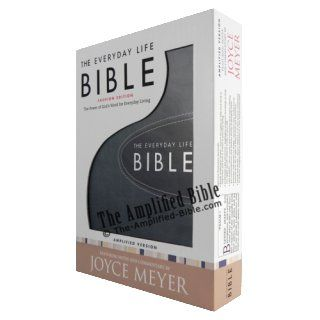 The Everyday Life Bible: The Power of God's Word for Everyday Living: Joyce Meyer: 9780446559317: Books