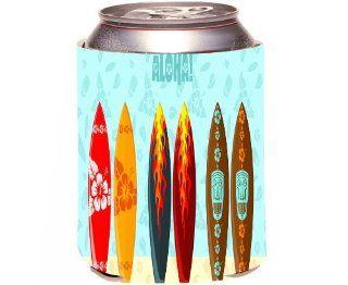 Rikki KnightTM Aloha Surfboards Design Drinks Cooler Neoprene Koozie Kitchen & Dining