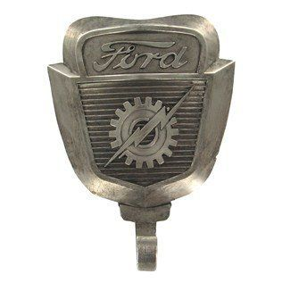 Genuine FORD Emblem Logo Wall Coat Hat Key Hook 351 GT Shelby Cobra MAN CAVE Father's Day Gift: Home Improvement