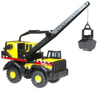 "Tonka: ""Mighty Crane""   Steel 32"" Construction Vehicle: Toys & Games"